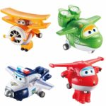 Super Wings Transform-a-bots Set
